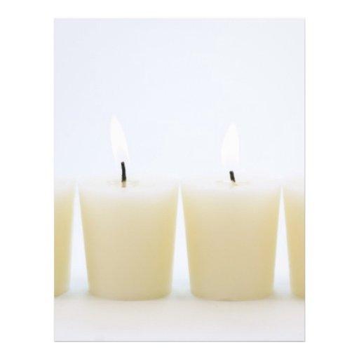 cuatro velas tarjetón