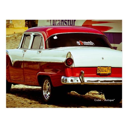 "Cuba - ""antigüedad "" postal"