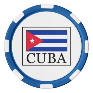 Cuba Fichas De Póquer
