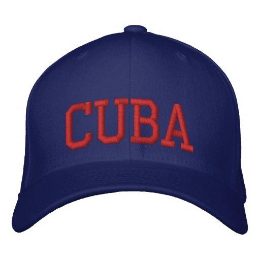Cuba Gorra De Béisbol