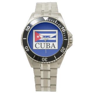 Cuba Relojes De Pulsera