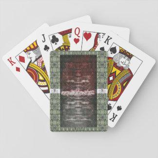 cubierta 5 de los artefactos baraja de cartas