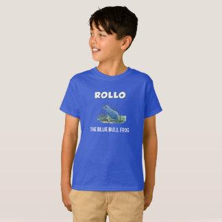 Cubierta azul de la camisa de Rollo