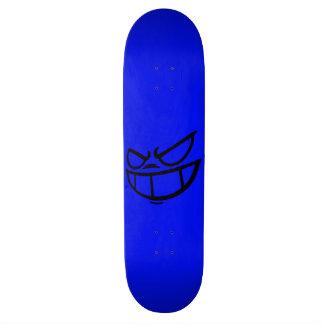 Cubierta azul y negra de la marca fantasma de monopatín 19,6 cm