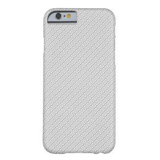 cubierta blanco y negro del teléfono de i funda barely there iPhone 6
