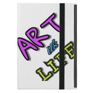 Cubierta brillante para el arte del iPad es vida