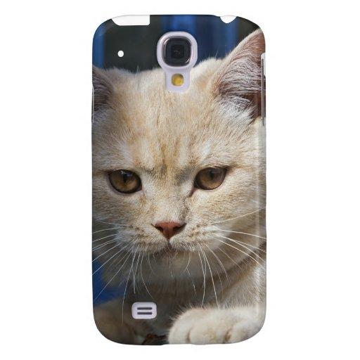 Cubierta británica del gato iPhone3G de Shorthair