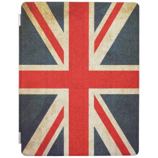 Cubierta británica del iPad de la bandera de Union
