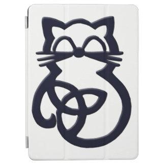 Cubierta céltica del aire 2 del iPad del gato del