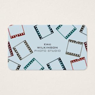 Cubierta colorida del modelo de la cinta de la tarjeta de negocios