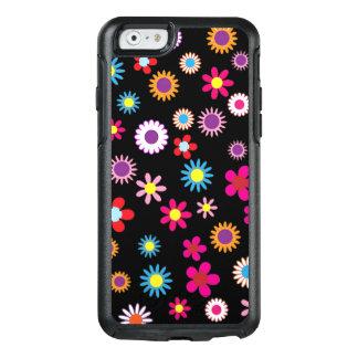 Cubierta colorida dulce de la flor y del teléfono funda otterbox para iPhone 6/6s
