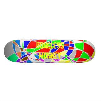Cubierta colorida patin personalizado