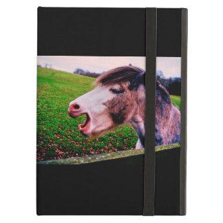 Cubierta de aire del ipad del caballo de Jane