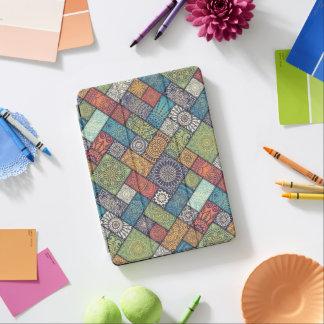 Cubierta De iPad Air Caja floral diagonal elegante del aire de las