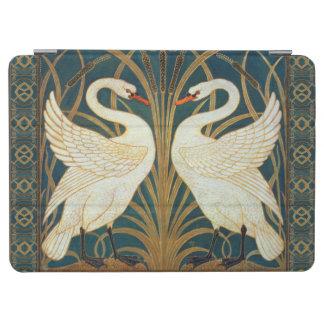 Cubierta De iPad Air Cisne de la grúa de Gualterio, precipitación y