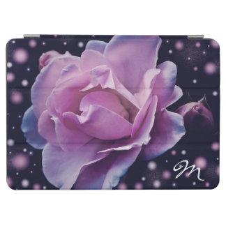 Cubierta De iPad Air color de rosa púrpura elegante elegante hermoso de