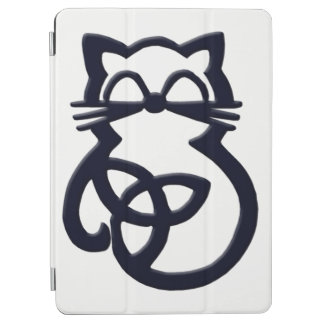 Cubierta De iPad Air Cubierta céltica del aire 2 del iPad del gato del