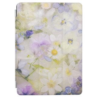 Cubierta De iPad Air Flores congeladas