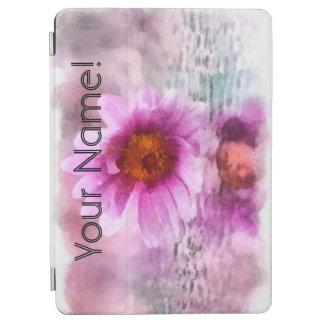 Cubierta De iPad Air Flores púrpuras