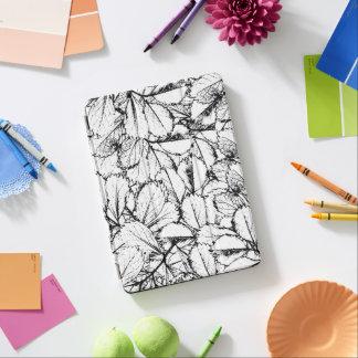 Cubierta De iPad Air Hojas del blanco