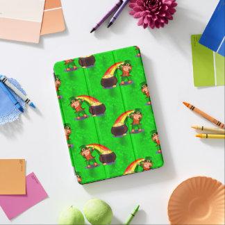 Cubierta De iPad Air Leprechaun que frota