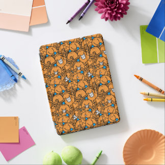 Cubierta De iPad Air Modelo anaranjado de las cosquillas de Sr. Tickle