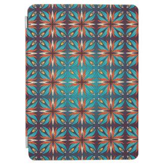 Cubierta De iPad Air Modelo inconsútil retro geométrico abstracto