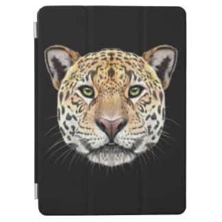 Cubierta De iPad Air Retrato ilustrado del jaguar
