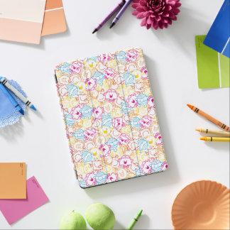 Cubierta De iPad Air Sr. Men y pequeño modelo de los colores del neón
