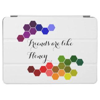 Cubierta De iPad Air Tema de la miel con palabras positivas