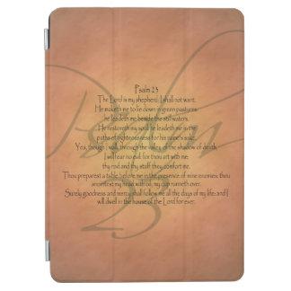 Cubierta De iPad Air Verso cristiano de la biblia del salmo 23 KJV