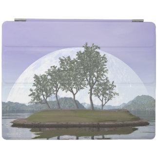 Cubierta De iPad Árbol con hojas liso de los bonsais del olmo - 3D