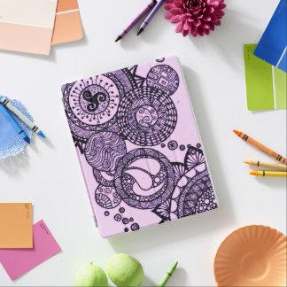 Cubierta De iPad Bonito en púrpura
