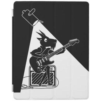 Cubierta De iPad Cabra que toca una guitarra eléctrica