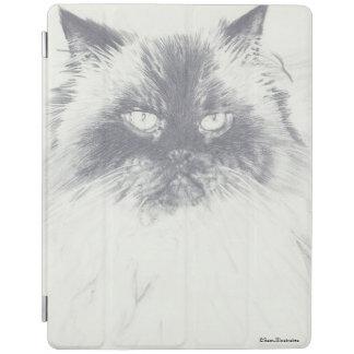 Cubierta De iPad Caso del iPad del dibujo del gato