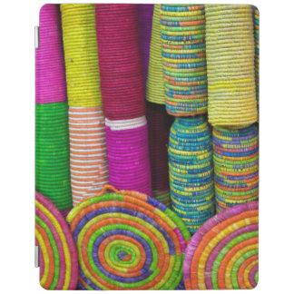 Cubierta De iPad Cestas coloridas en el mercado