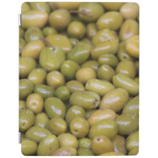 Cubierta De iPad Ciérrese para arriba de aceitunas verdes