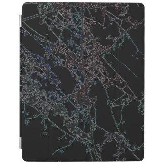 Cubierta De iPad Cubierta del iPad de Autumnus de la silueta