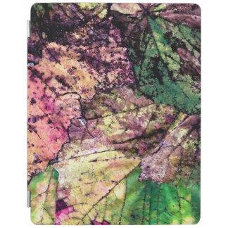 Cubierta De iPad Cubierta elegante coloreada del iPad de las hojas