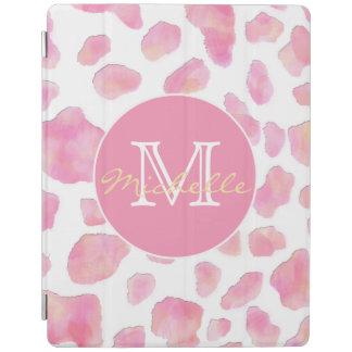 Cubierta De iPad Cubierta elegante del estampado leopardo del iPad