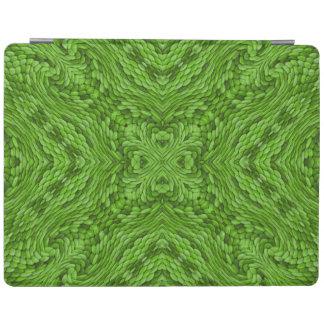 Cubierta De iPad Cubiertas verdes de Smart   del iPad del