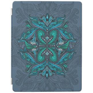 Cubierta De iPad Cuervo de los espejos, sueños, bohemio, shaman
