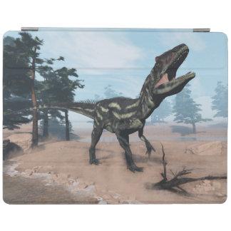 Cubierta De iPad Dinosaurio del Allosaurus que ruge - 3D rinden