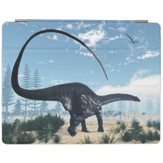 Cubierta De iPad Dinosaurio del Apatosaurus en el desierto - 3D
