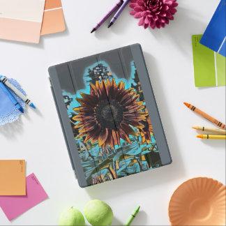 Cubierta De iPad Diseño gráfico del girasol