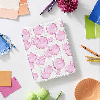 Cubierta De iPad Diversión y burbujas rosadas impresionantes en