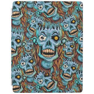 Cubierta De iPad duende oscuro del cráneo sin cerebro