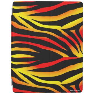 Cubierta De iPad El tigre raya la caja del iPad del modelo del