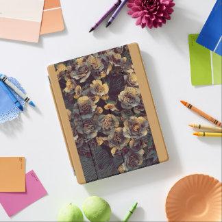 Cubierta De iPad Flores de la pared de Victoria