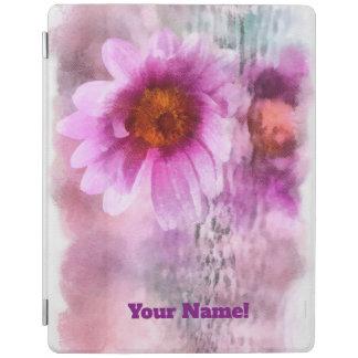 Cubierta De iPad Flores púrpuras